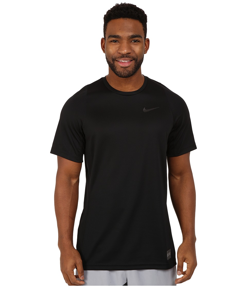Nike - Elite Shooter 2.0 (Black/Black/Black/Black) Men's Short Sleeve Pullover