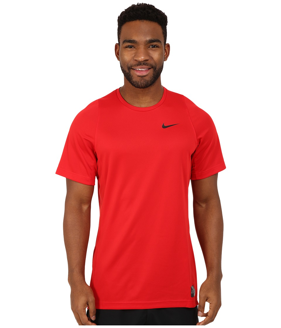 Nike - Elite Shooter 2.0 (University Red/University Red/Black/Black) Men's Short Sleeve Pullover
