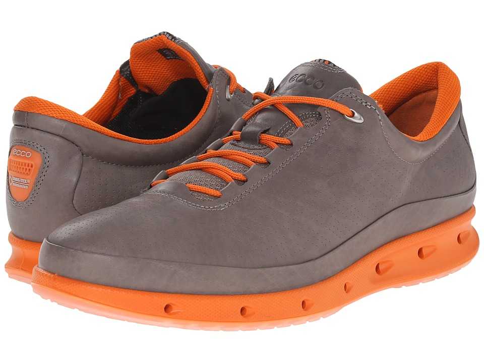 ECCO Sport - ECCO Cool (Warm Grey/Orange) Men's Walking Shoes