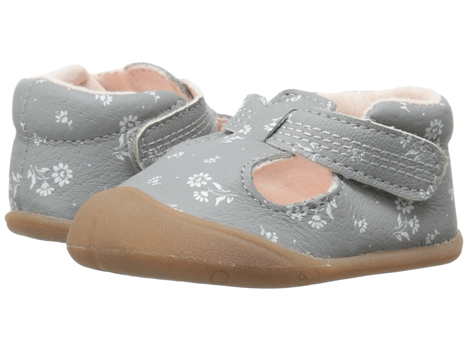 Carters - Amy-P3 (Infant) (Grey/Light Pink) Girl's Shoes