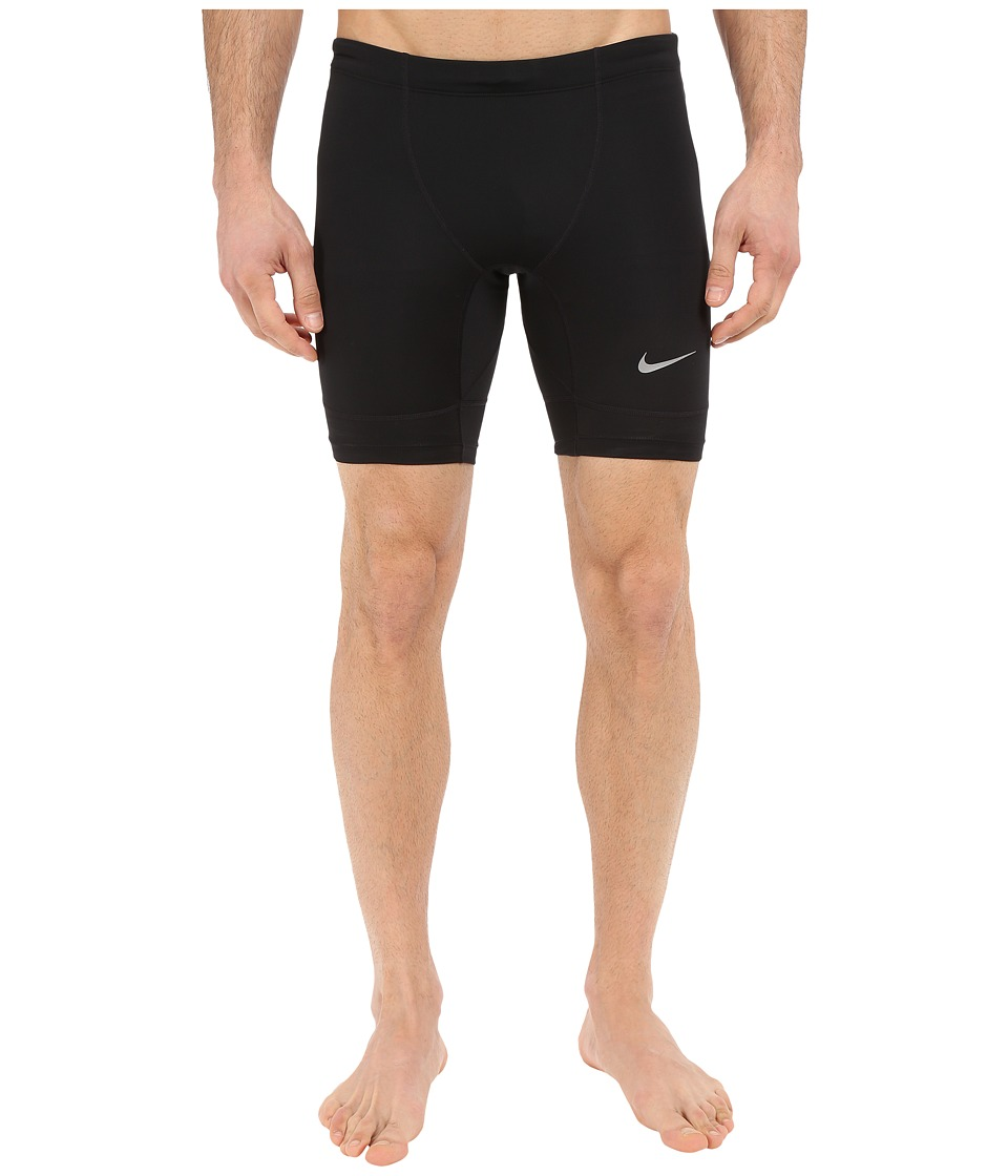 Nike Tech Half Tights (Black/Reflective Silver) Men