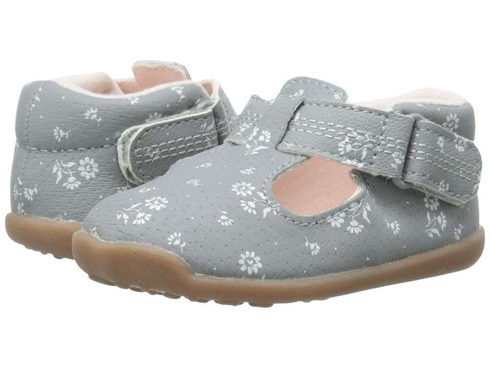 Carters - Chloe-P3 (Toddler) (Grey/Light Pink) Girl's Shoes