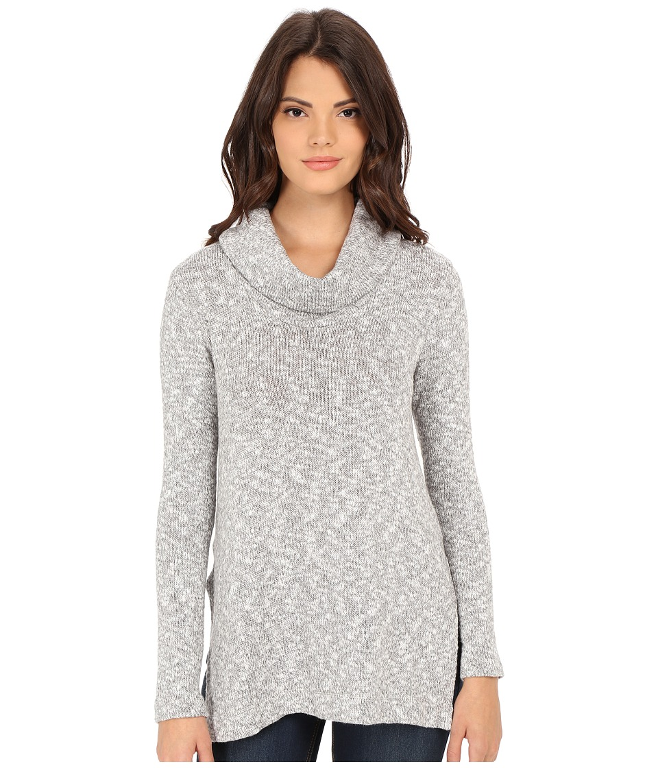 Splendid - Lake Front Loose Knit Tunic (Dove Grey) Women's Blouse