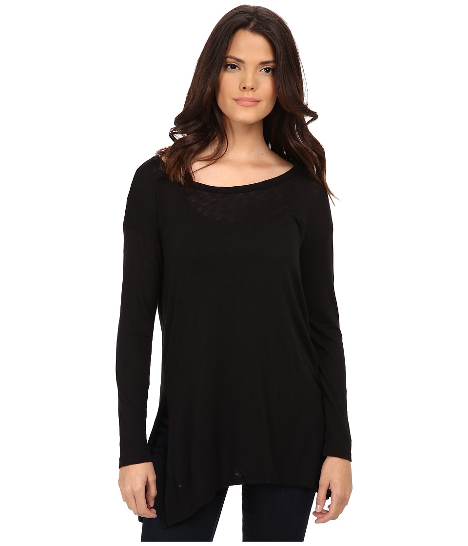 Splendid - Slub Jersey Tunic (Black) Women's Blouse