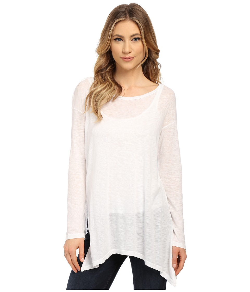 Splendid - Slub Jersey Tunic (White) Women's Blouse