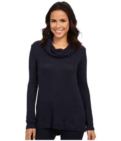 Splendid - Whistler Loose Knit Tunic (Navy) Women's Blouse