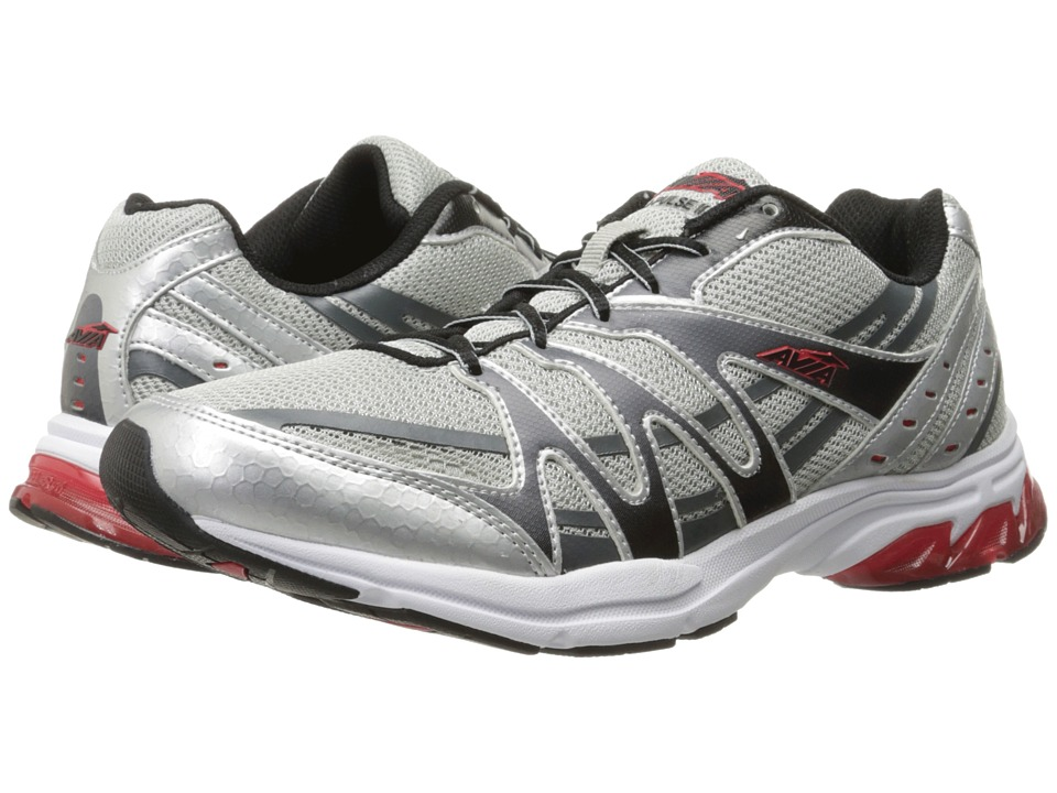 Avia - Avi-Pulse (Chrome Silver/Black/Formula Red/Metallic Iron Grey) Men's Shoes