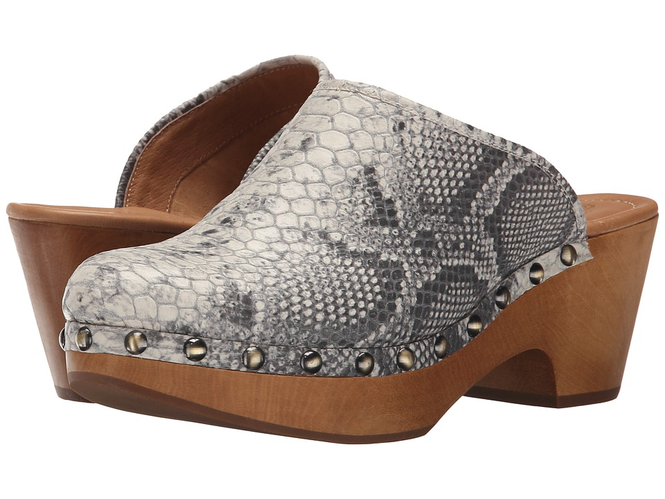 Corso Como - Rafe (Grey Multi Snake) Women's Clog Shoes