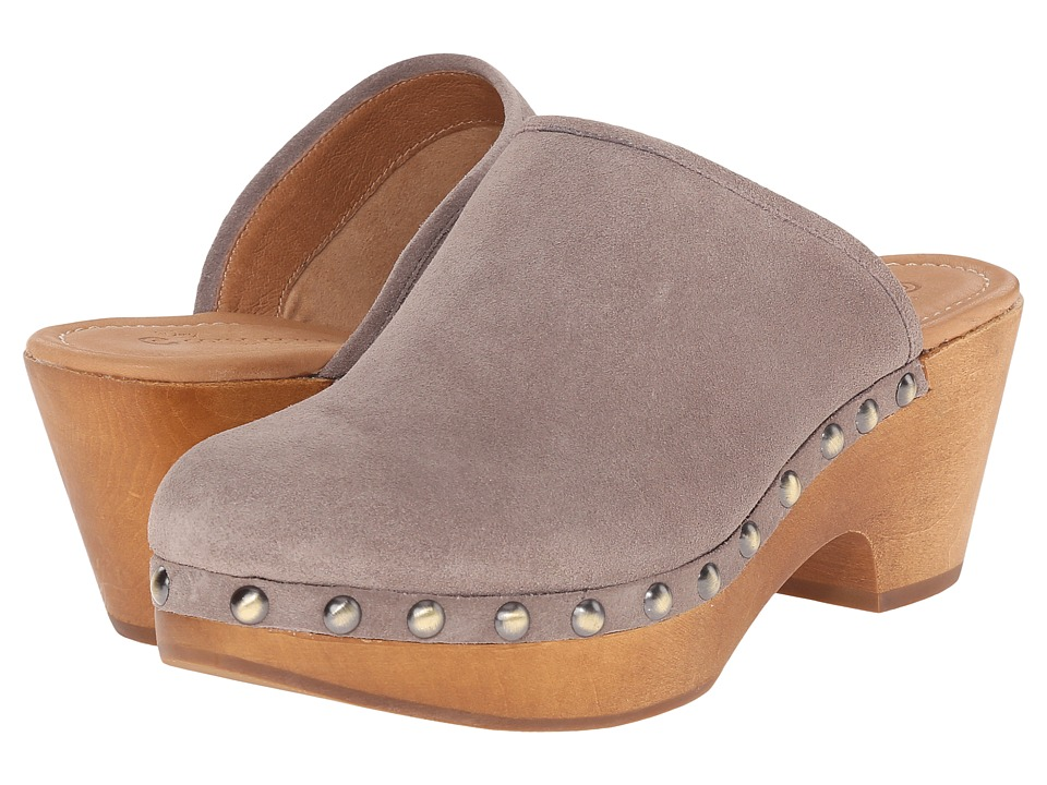 Corso Como - Rafe (Taupe Suede) Women's Clog Shoes
