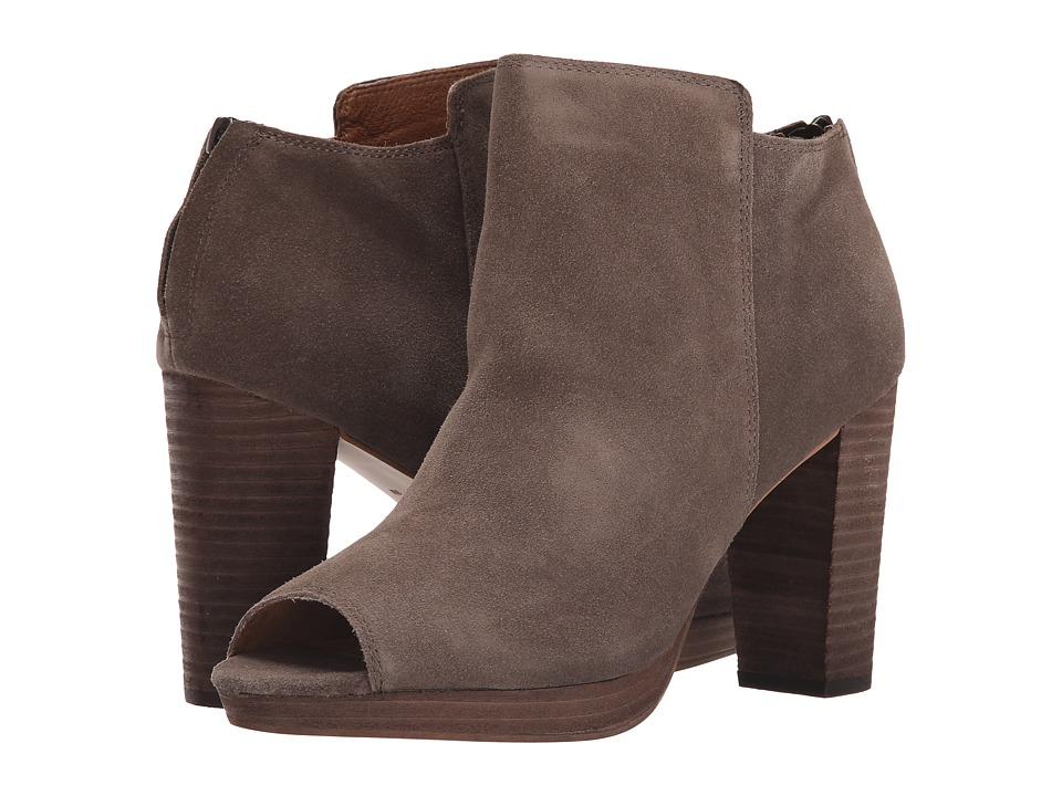 Corso Como - Edie (Taupe Suede) Women's Dress Zip Boots