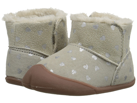 Carters - Bucket-GC (Infant) (Light Grey/Silver) Girl's Shoes