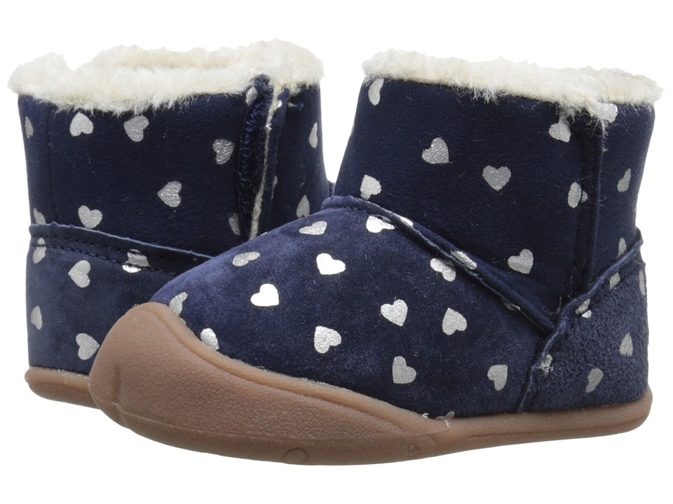 Carters - Bucket-GC (Infant) (Navy/Silver) Girl's Shoes