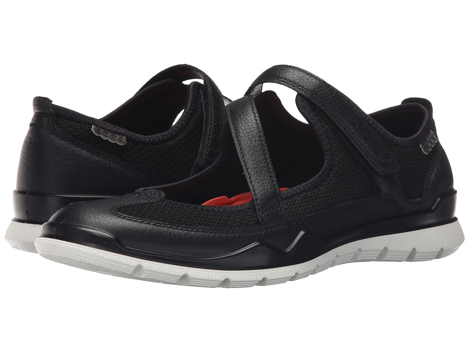 Ecco Performance - Lynx Mary Jane (Black/Black) Women's Maryjane Shoes