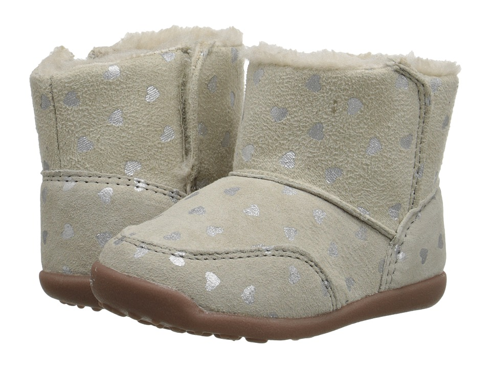 Carters - Bucket-GW (Toddler) (Light Grey/Silver) Girl's Shoes