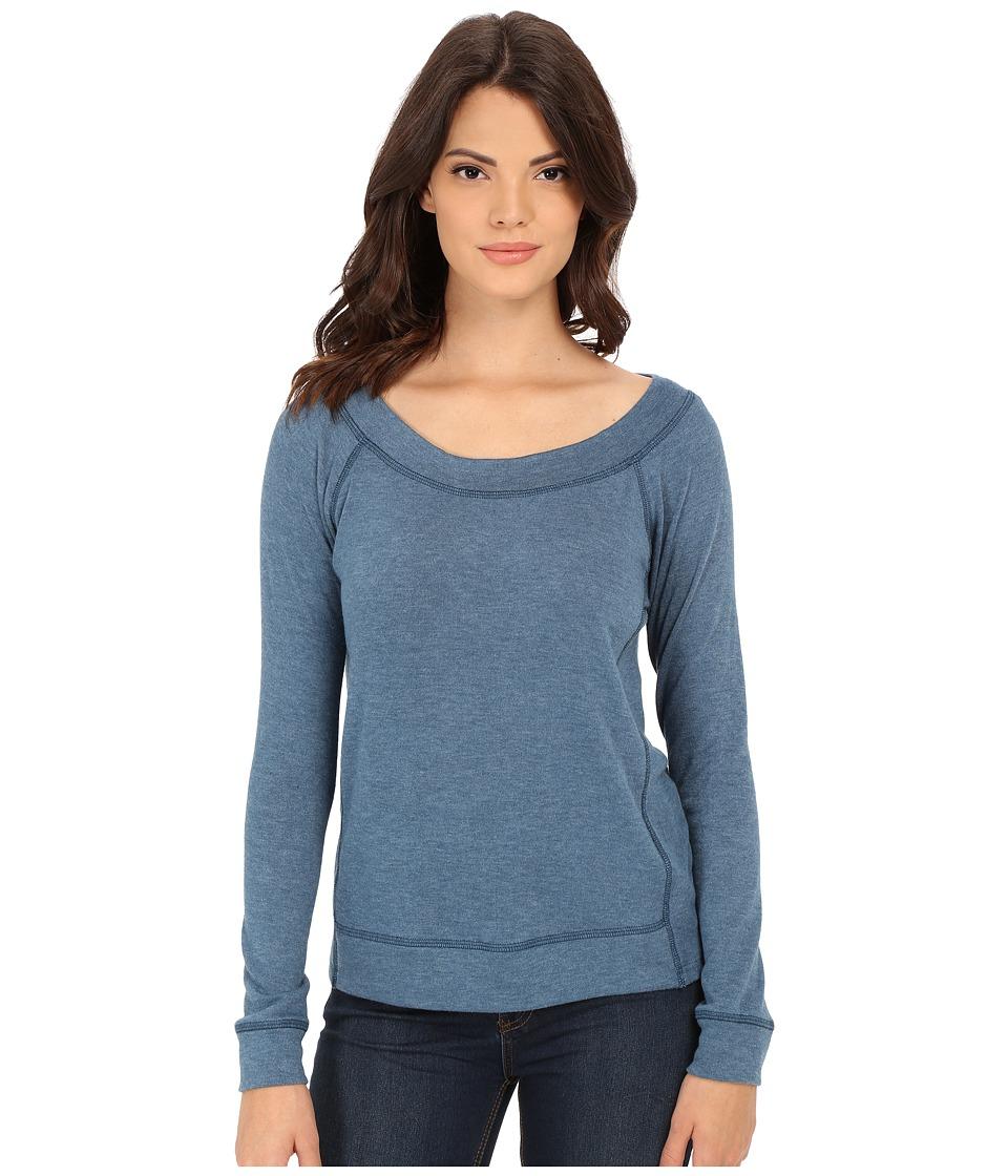 Splendid - Kodiak Knits Pullover (Deep Water) Women's Short Sleeve Pullover