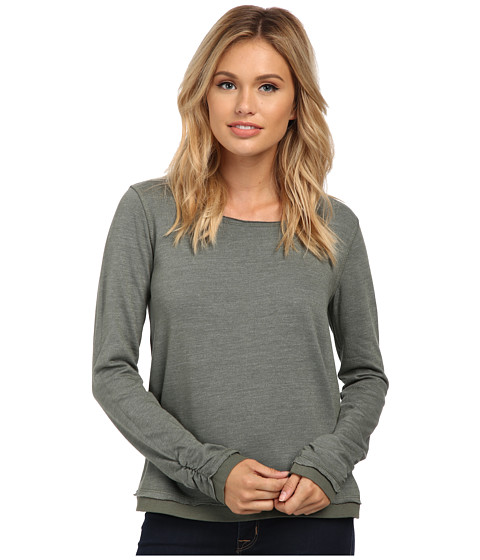 Splendid - Tahoe Active Pullover (Aluminum) Women's Short Sleeve Pullover