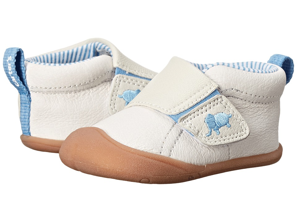 Carters - Every Step Andy Stage 1 (Blue/Ivory) Boy's Shoes