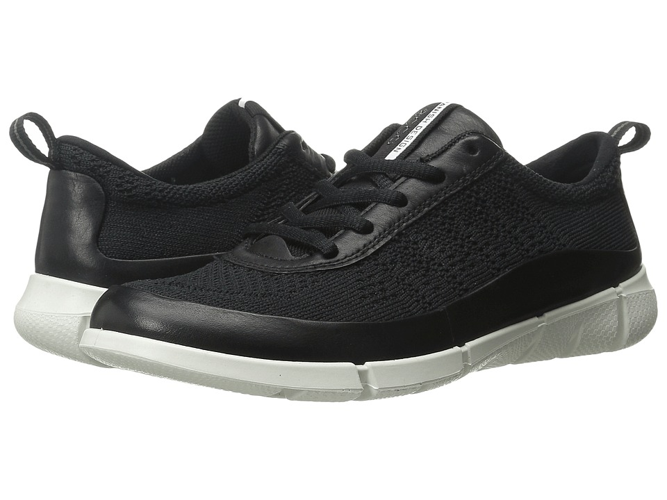 Ecco Performance - Intrinsic Knit (Black/Black) Women's Walking Shoes