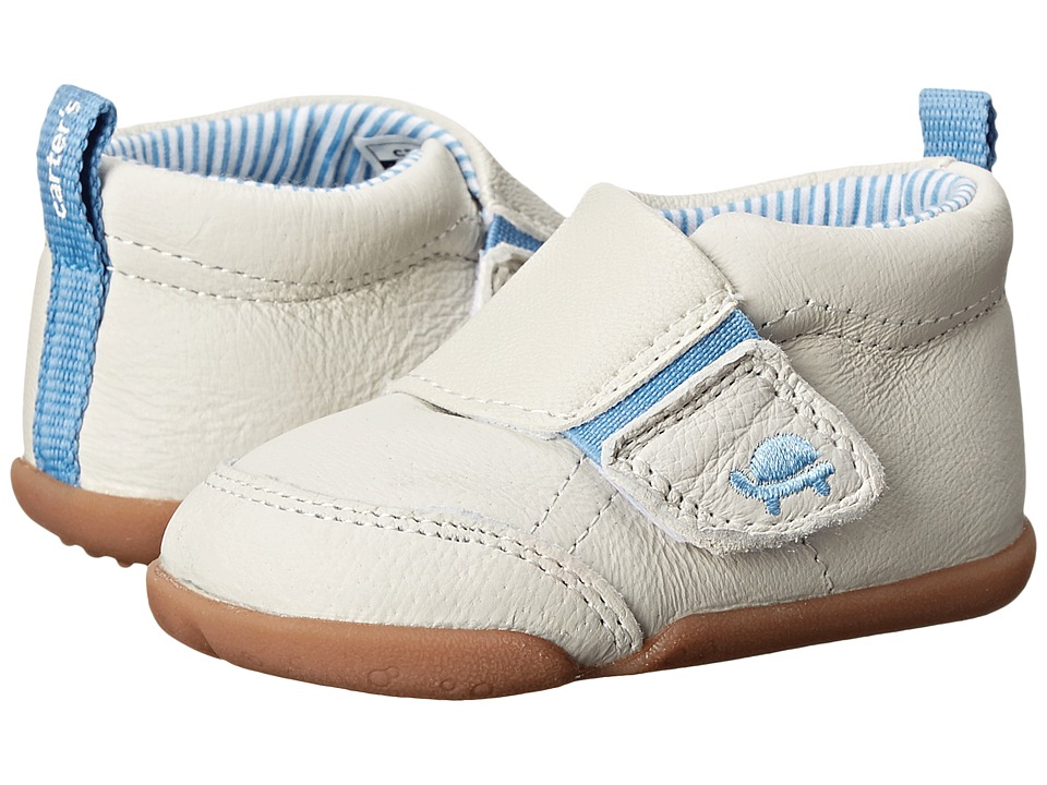 Carters - Every Step Bobby Stage 2 (Blue/Ivory) Boys Shoes