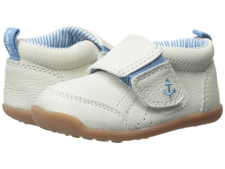 Carters - Every Step Charlie Stage 3 (Blue/Ivory) Boy's Shoes