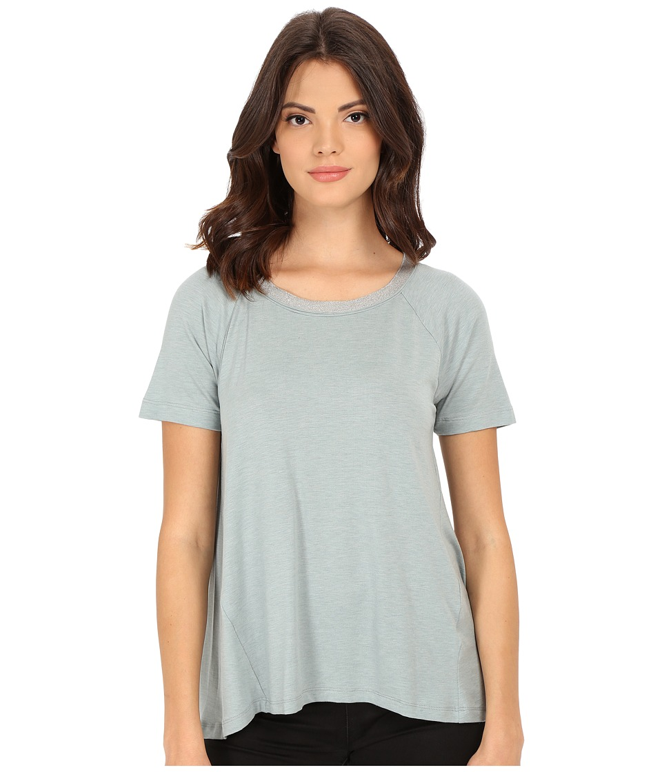Splendid Tencel Jersey Tee (Green Lily) Women