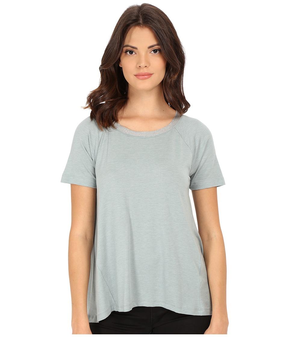 Splendid - Tencel Jersey Tee (Green Lily) Women's T Shirt