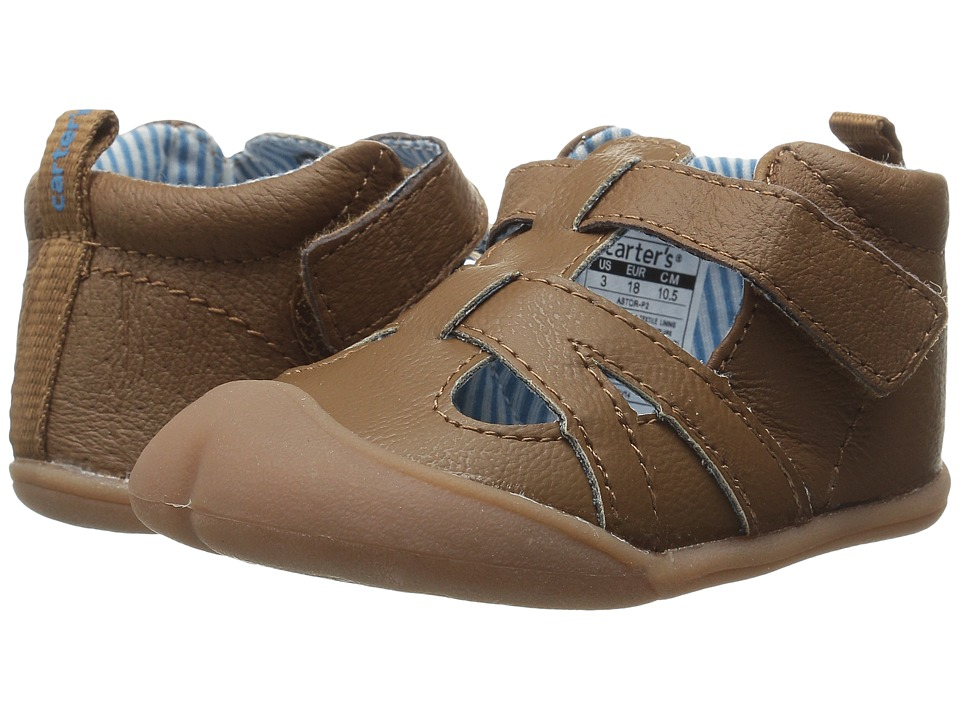 Carters - Astor-P2 (Infant) (Brown) Boy's Shoes