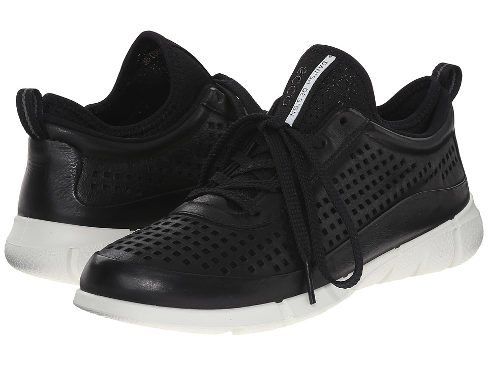 ECCO Sport - Intrinsic Sneaker (Black) Women's Walking Shoes