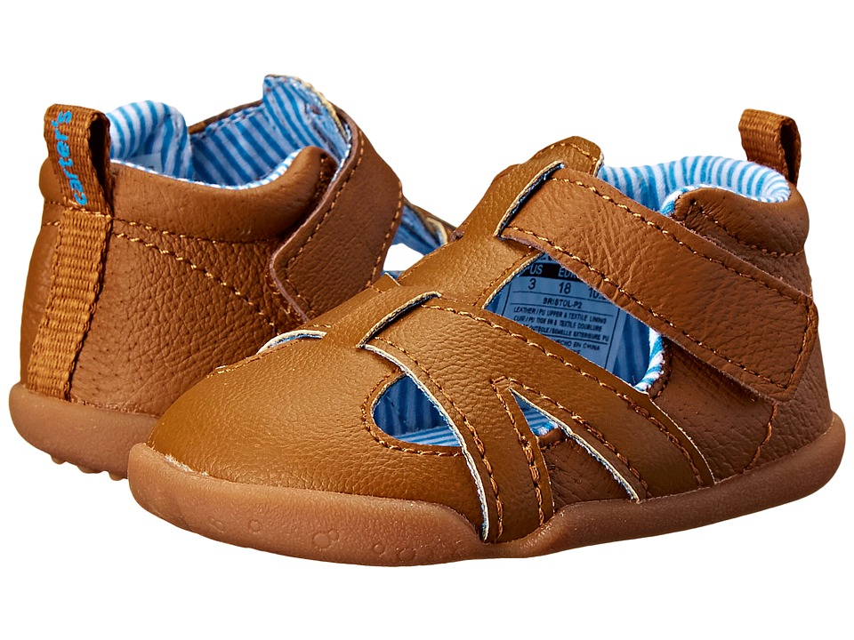 Carters - Bristol-P2 (Infant/Toddler) (Brown) Boy's Shoes
