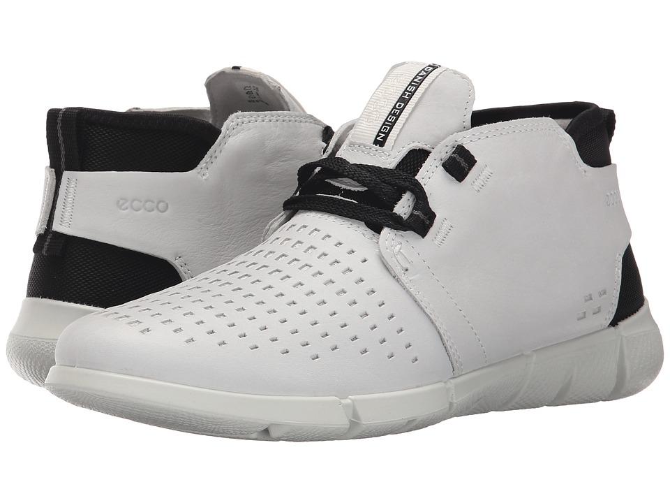 ECCO Sport - Intrinsic Chukka (White) Women's Shoes