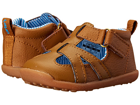 Carters - Claxton-P2 (Toddler) (Brown) Boy's Shoes