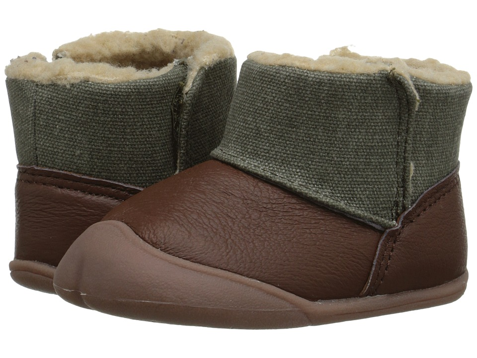 Carters - Bucket-BC (Infant) (Tan/Olive) Boy's Shoes