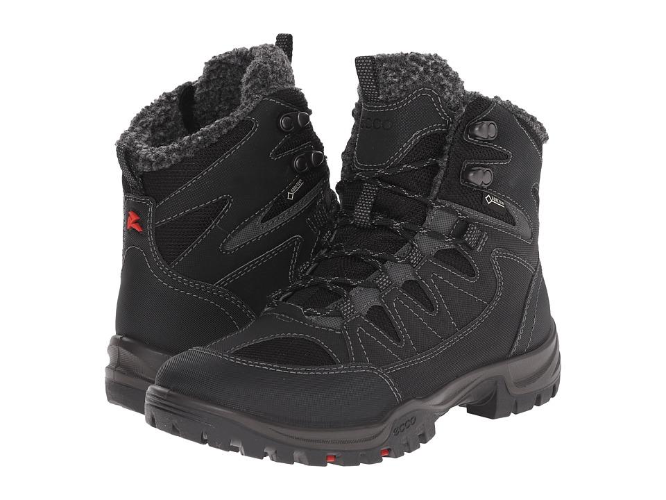 ECCO Sport - Xpedition III GTX (Black/Black) Women's Hiking Boots