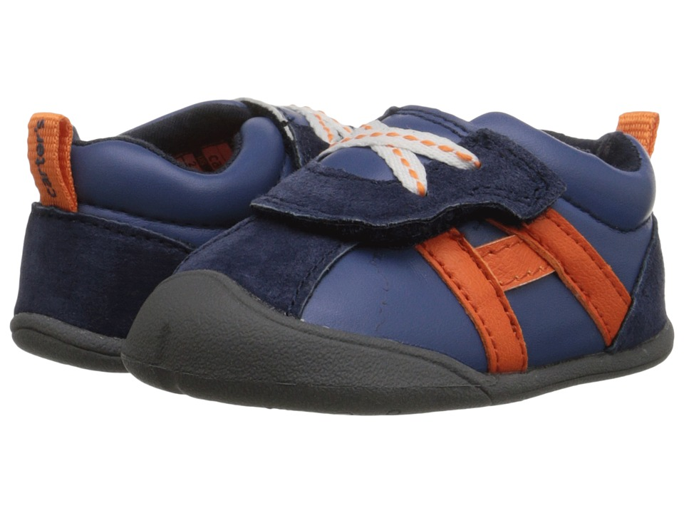 Carters - Oldie-BC (Infant) (Navy) Boy's Shoes