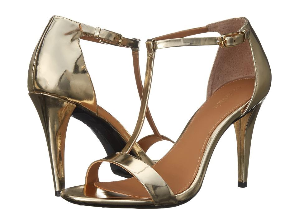 Calvin Klein - Nasi (Warm Gold Mirror Metallic) High Heels