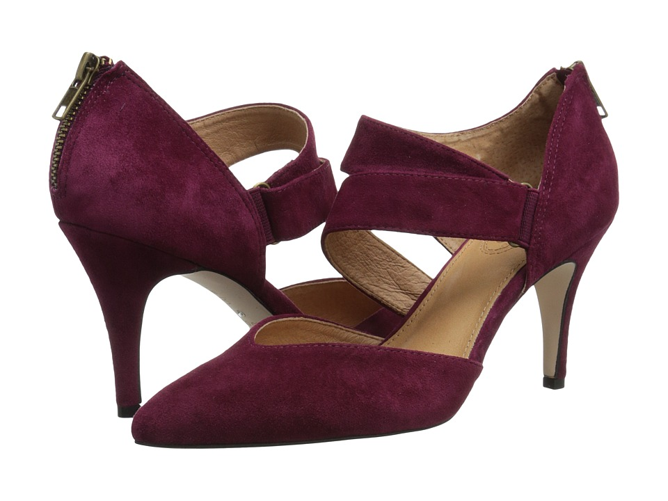 Corso Como Carroll (Oxblood Suede) High Heels