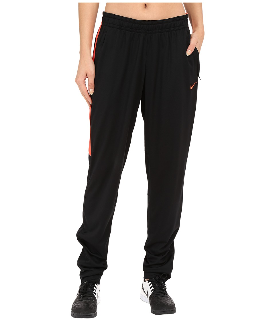 Nike - Academy Knit Soccer Pant (Black/Bright Crimson/Bright Crimson) Women's Casual Pants