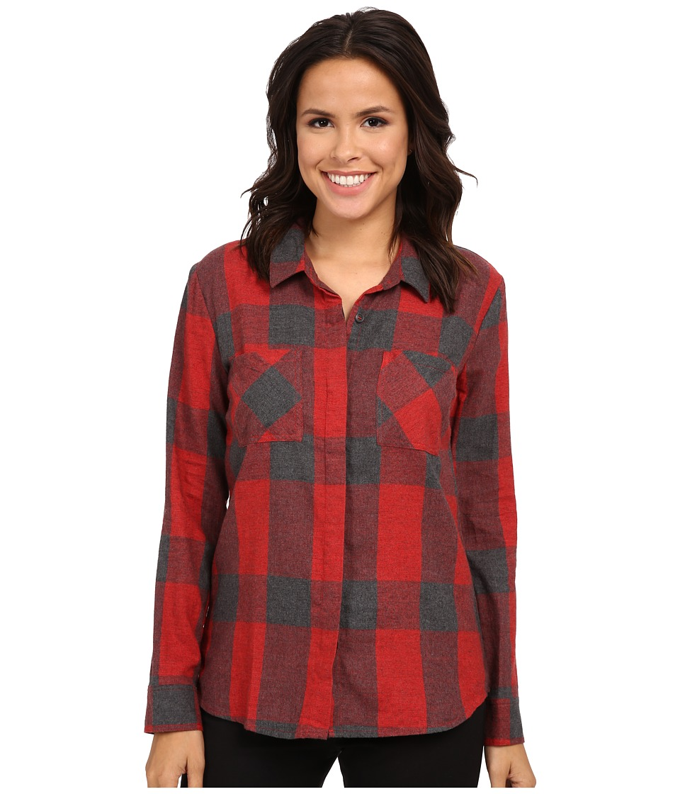 Splendid - Wildwood Plaid Shirting (Fiesta) Women's Clothing