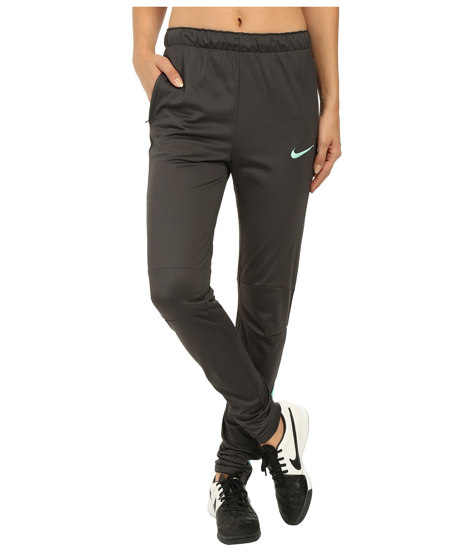 Nike - Squad Tech Soccer Pant (Anthracite/Hyper Turquoise/Hyper Turquoise) Women's Casual Pants