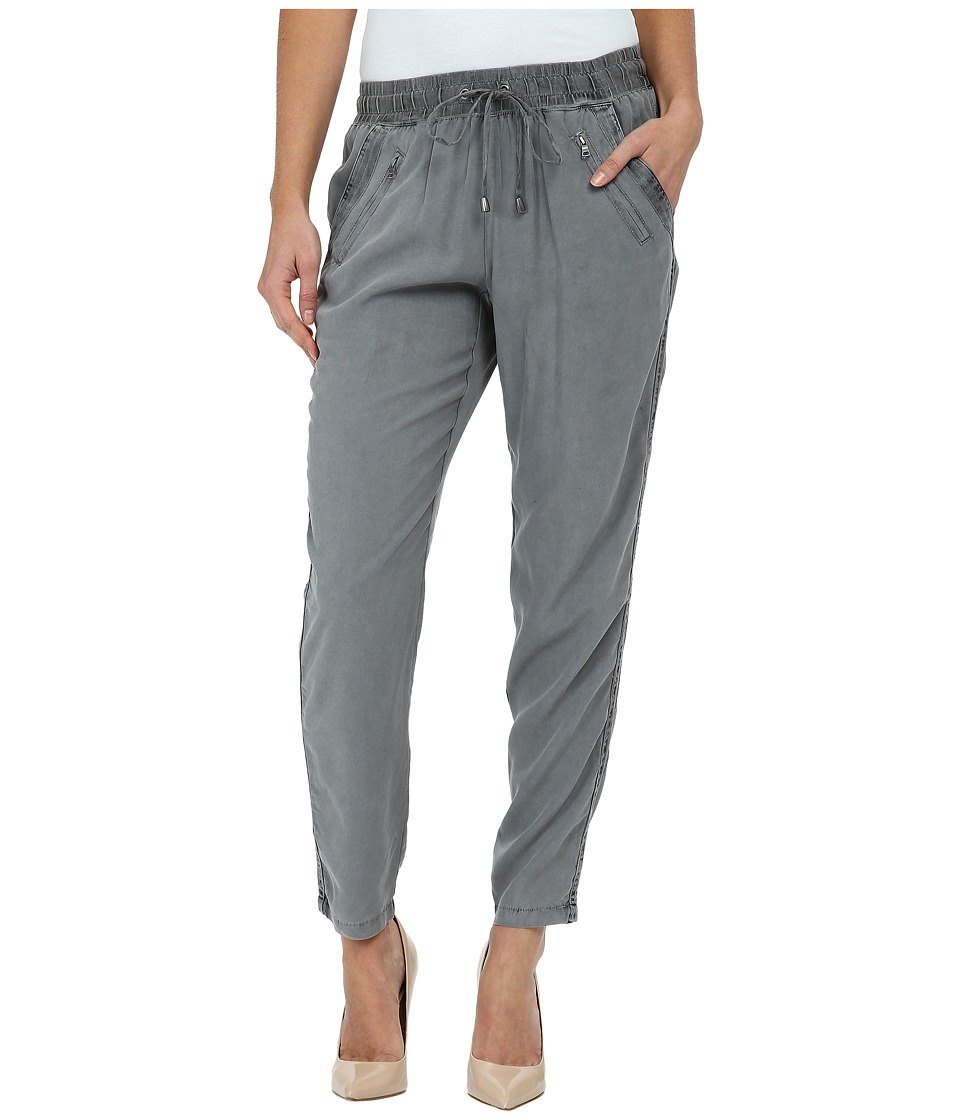 Splendid - Cobblestone Mixed Media Pants (Lead) Women's Casual Pants