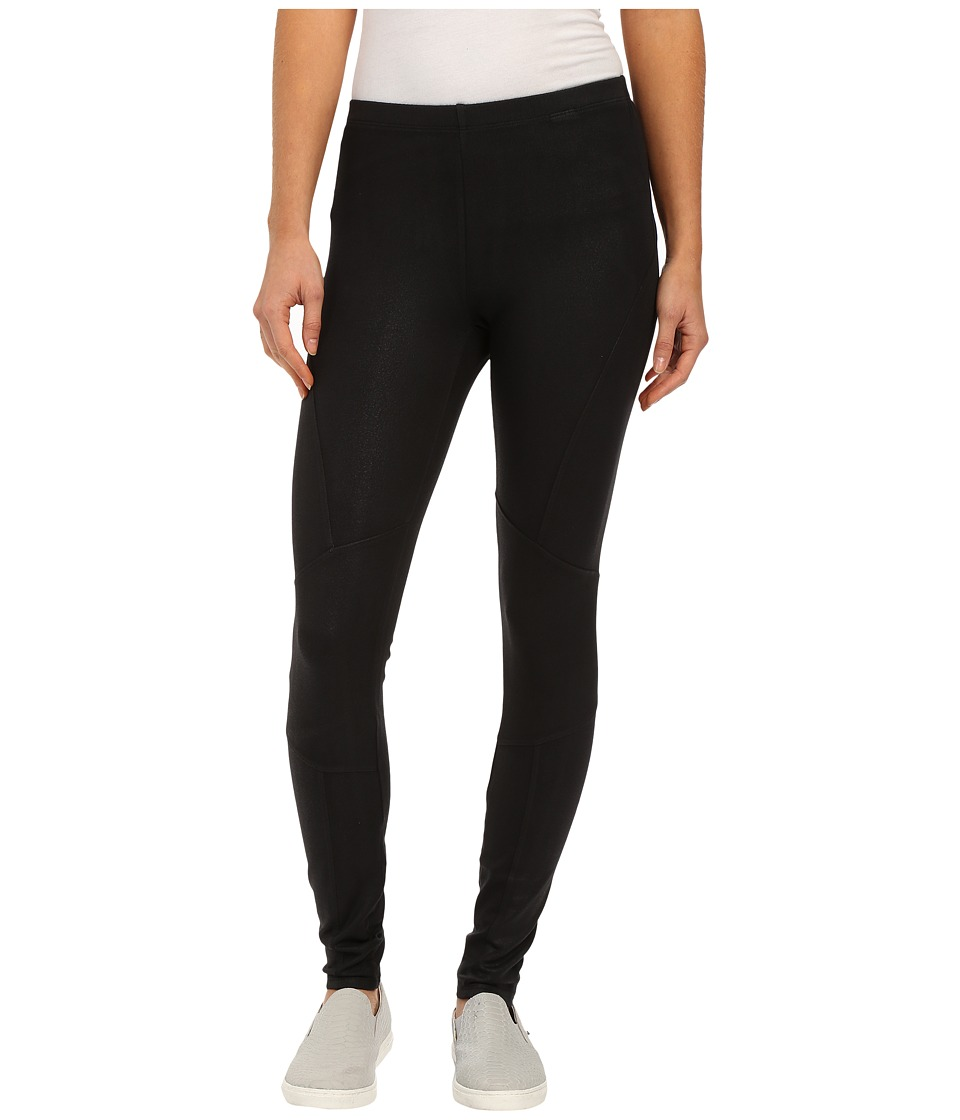 Splendid - Coated Leggings (Black) Women's Clothing