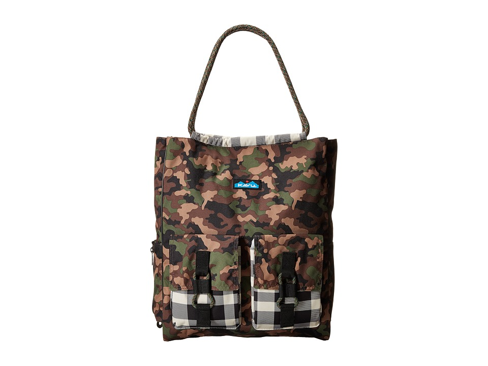 KAVU - Scout Tote (Camo) Tote Handbags
