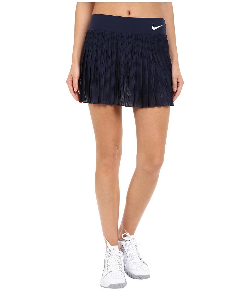 Nike - Court Victory Premier Tennis Skirt (Obsidian/White) Women's Skort