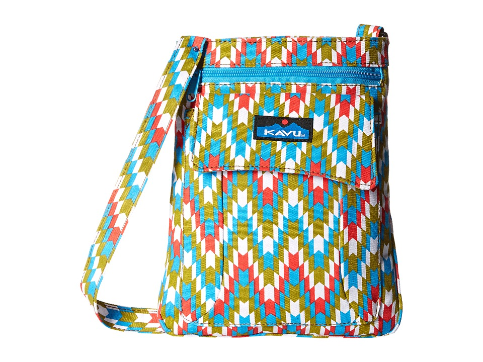 KAVU - Keeper (Garden Tile) Cross Body Handbags