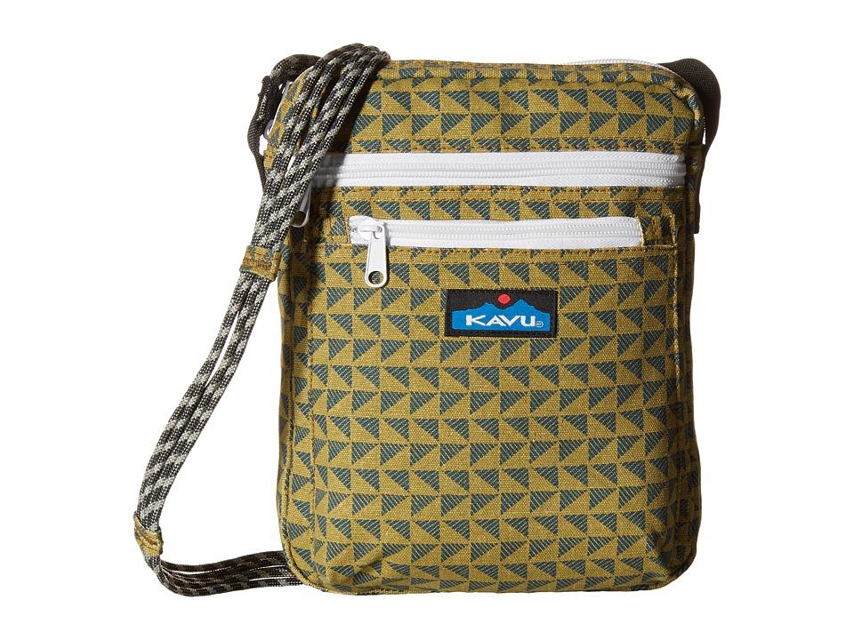 KAVU - Zippit (Pine Angle) Bags