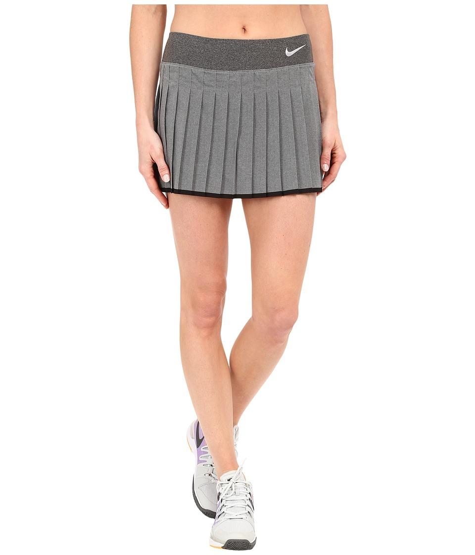 Nike - Victory Skirt (Anthracite/Heather/White) Women's Skort