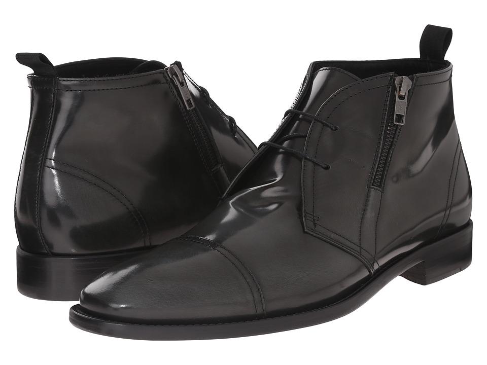 53d74bd410a1d Massimo Matteo Side Zip Lace Up Boot (Vulcano) Men
