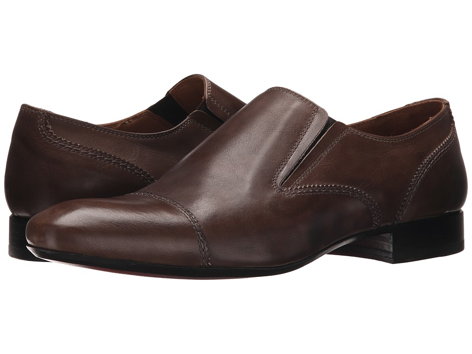 Massimo Matteo - Cap Toe Slip-On with Gore (Holland) Men's Slip on Shoes