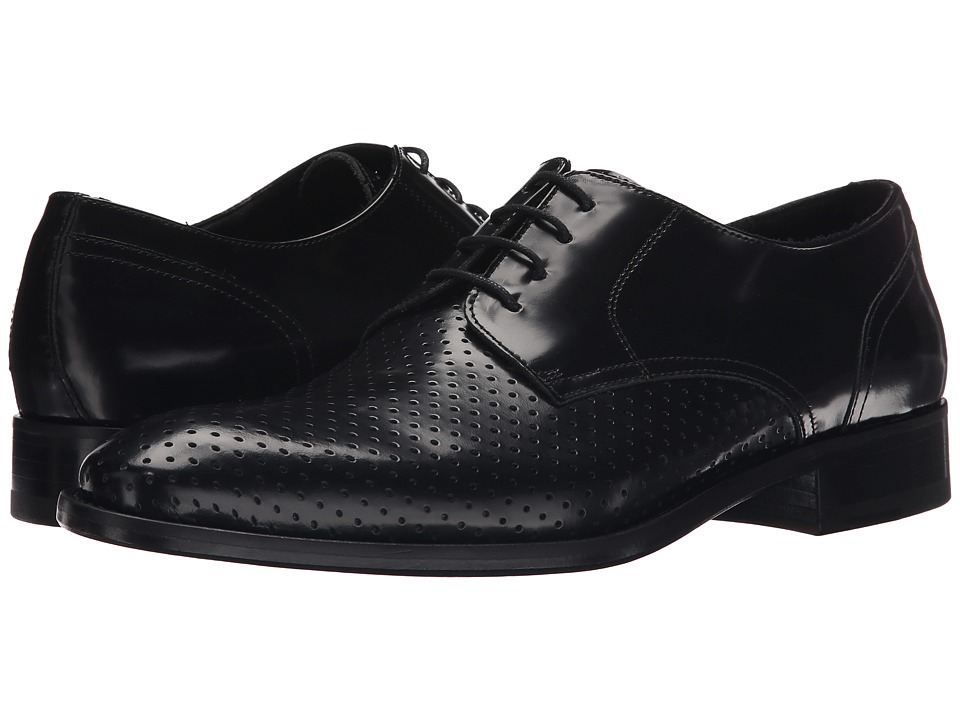 Massimo Matteo Perfed Vamp Blucher (Black) Men