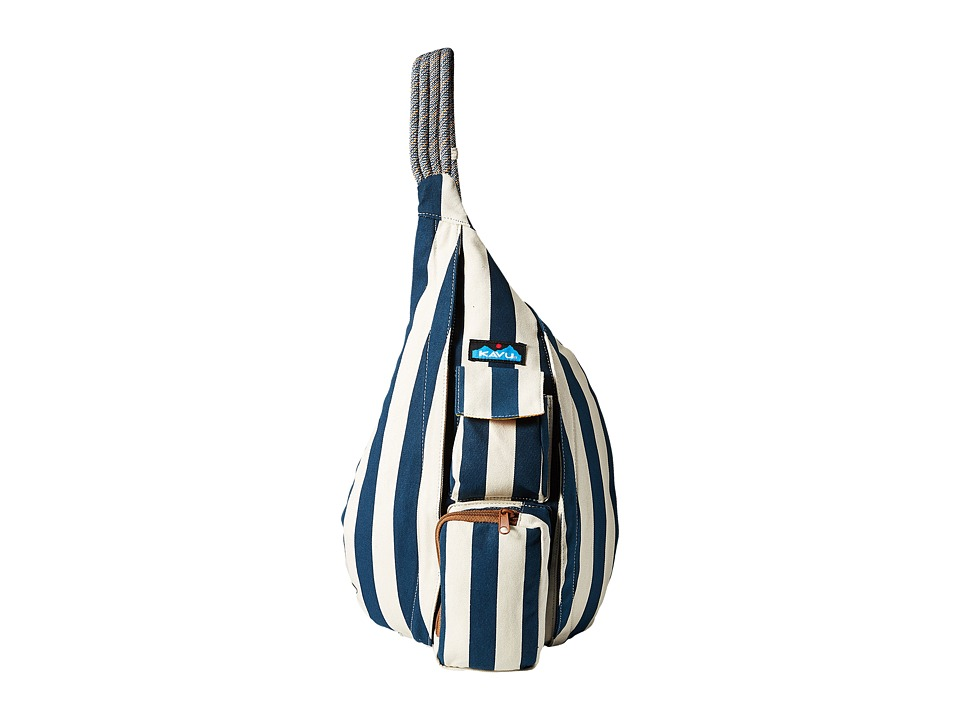KAVU - Rope Bag (Nautical Stripe) Backpack Bags